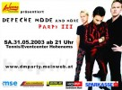 03. Depeche Mode & more Party
