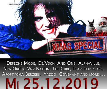 Pop & Wave Party (XMAS-Special) in der Spielboden Kantine in Dornbirn!
