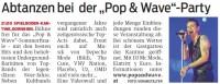 Pop & Wave Party 01.09.2012