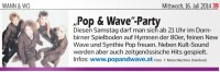 Pop & Wave Party 19.07.2014