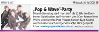 Pop & Wave Party 19.07.2014