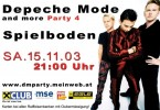 04. Depeche Mode & more Party