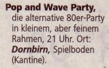 Pop & Wave Party 18.07.2009