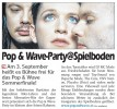 Pop & Wave Party 03.09.2011